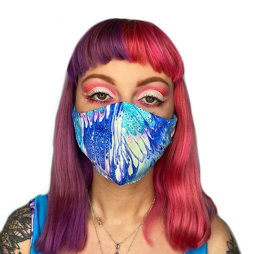 The Disco in the Lagoon Face Mask