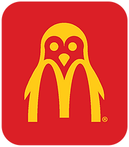 1 McPenguin Logo_Yellow_RedBack.png