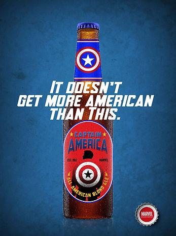 1 Captain America Bottle Print Ad Small.