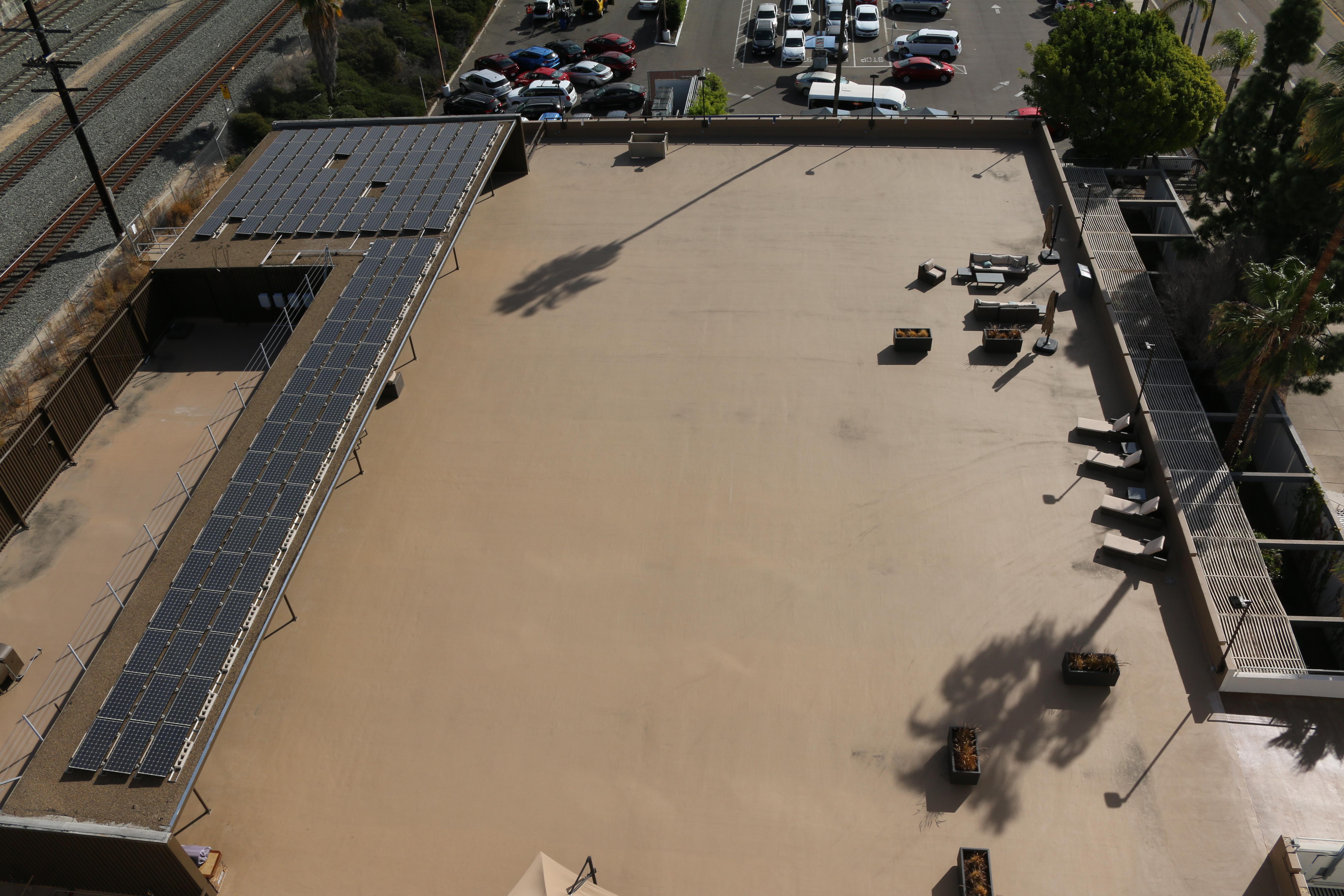 Port roof