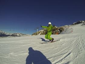Willy Duron Telemark Alpe d'Huez