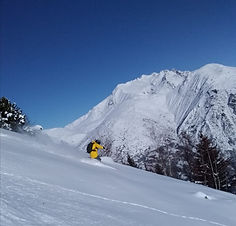 Seb Ballereau engagement journée ski snowboard Alpe d'Huez ecole de ski / full day booking private ski instructor