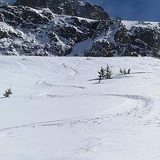 hors piste alpe d'huez guidage free ride / off piste guiding alpe d'huez
