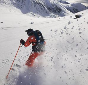 Willy hors piste Alpe d'Huez