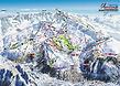 Plan des pistes Alpe d'Huez Grand domain - Piste Map Alpe d'Huez