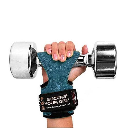 כפפות אימון לגברים קוברה גריפס PRO מעור - כחול