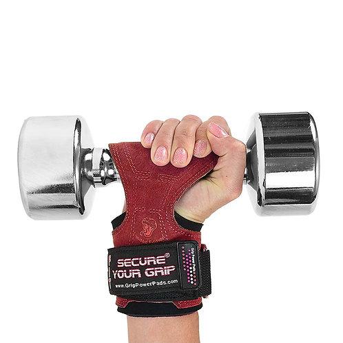 כפפות אימון לנשים קוברה גריפס FIT מעור - אדום