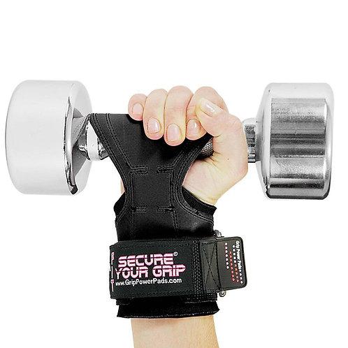כפפות אימון לנשים קוברה גריפס FIT - ניאופרן שחור