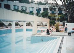 香港赤柱海灣園泳池
