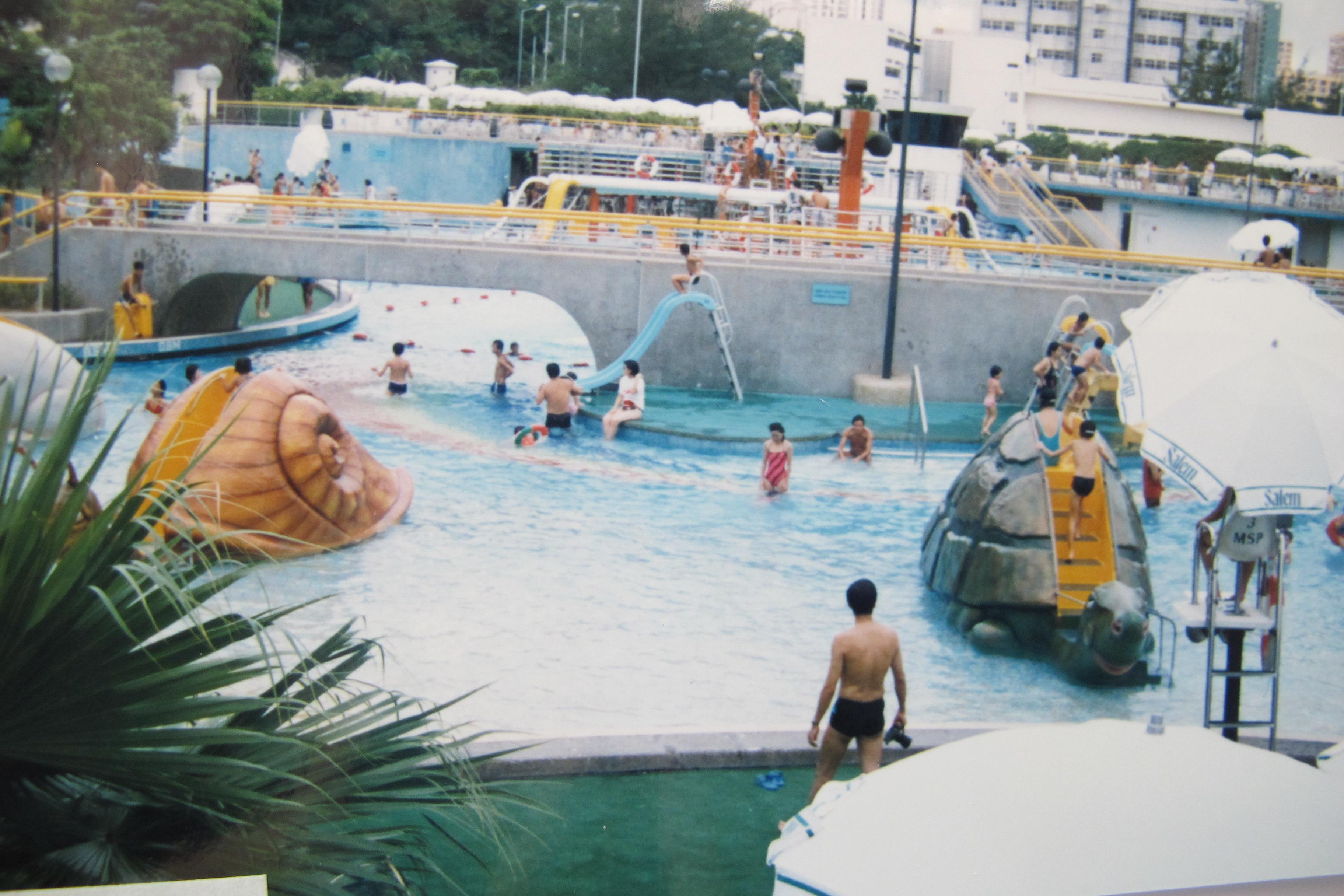 香港海洋公園泳池