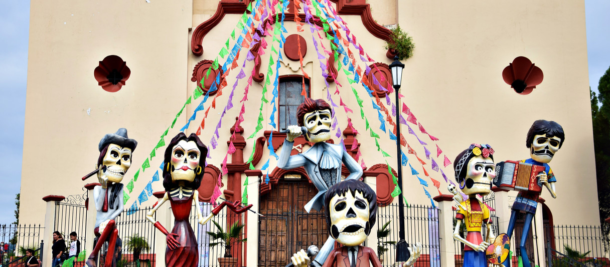 Jour de fête à Santiago pour el Día de los Muertos