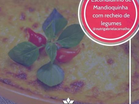 Escondidinho de Mandioquinha com Legumes