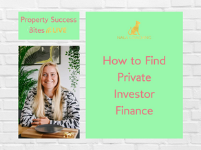 How to Find Private Investor Finance