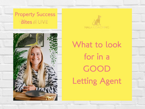What to Look For in a GOOD Letting Agent