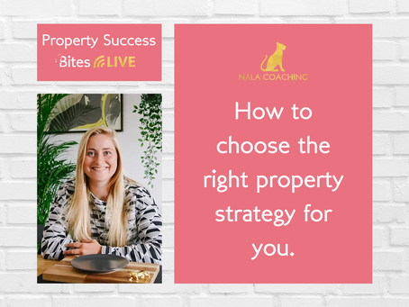 How to Choose the Right Property Strategy for YOU