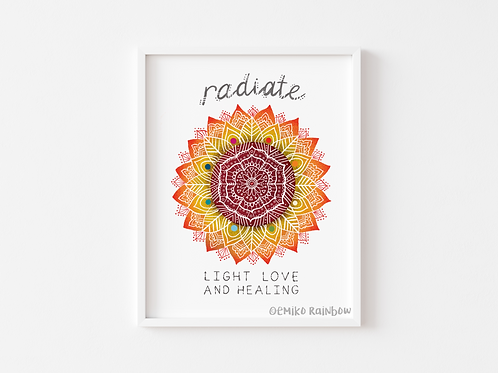 Radiate Light Love & Healing