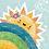 Thumbnail: Rainbow and Sun Illustration