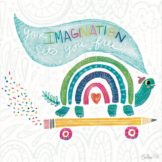 Your Imagination Sets You Free