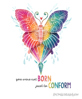 You Were Not Born Just To Conform