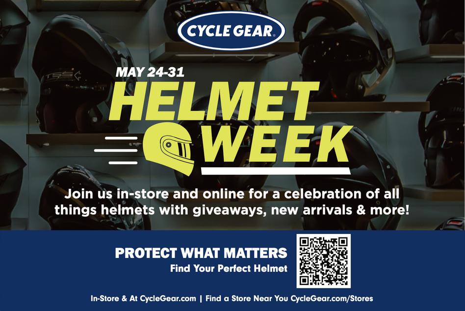 Helmet Week Postcard 2021