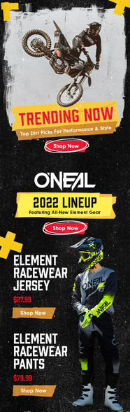Launch email for O'neal 2022 line