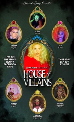 Jenny Henny House of Villains Poster