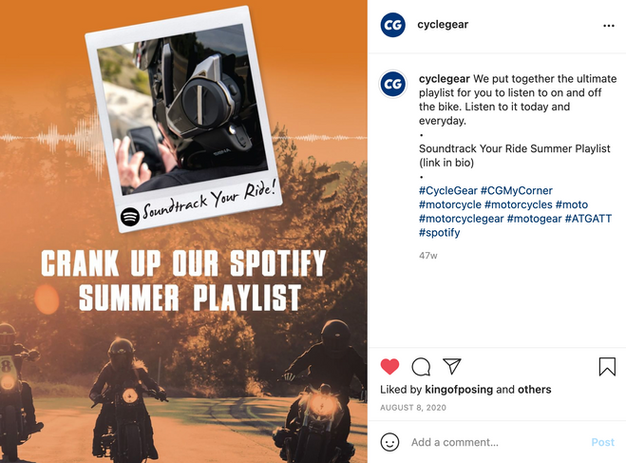 Social Post for our Summer Playlist 2020