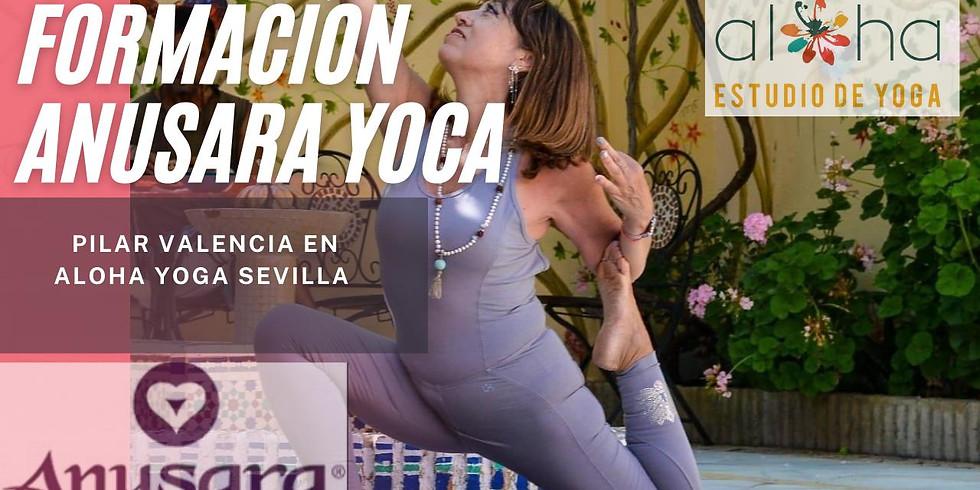 Formación Presencial Anusara Yoga 2022