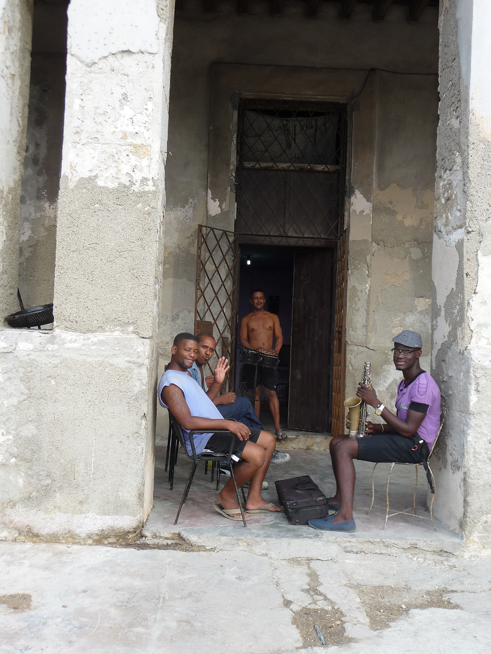 """Hangin' Out"" on the Malecon - Havana, Cuba"