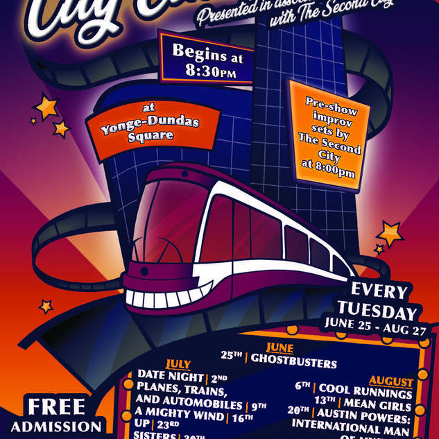 City Cinema General Poster