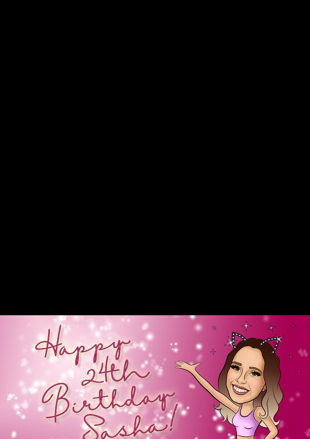 Sasha's 24th Birthday Filter