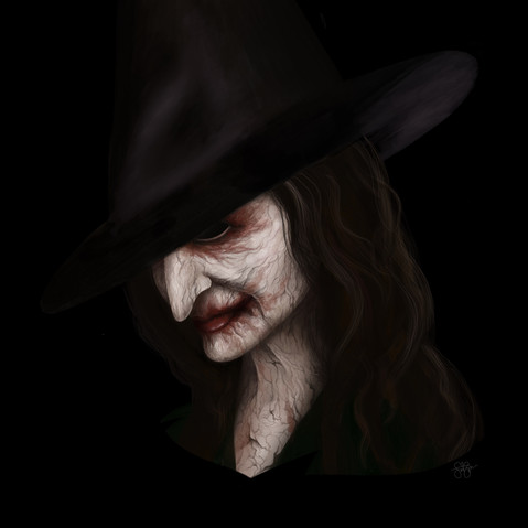 Witch Portrait