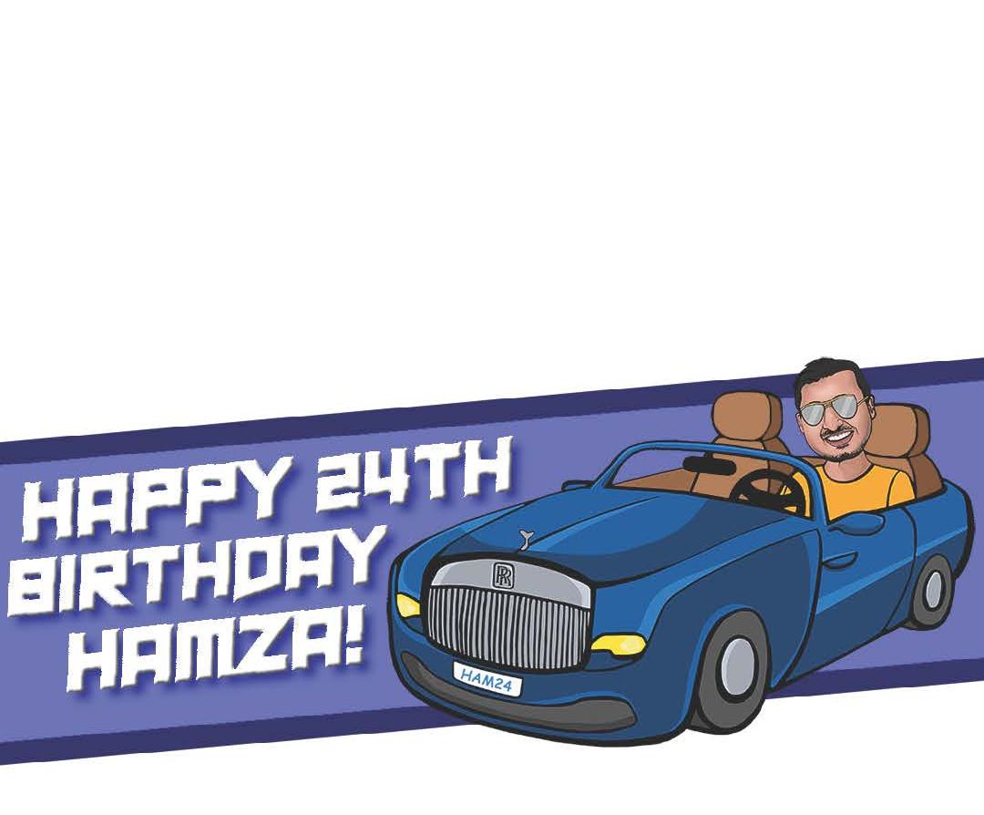 Hamza's 24th Birthday Filter