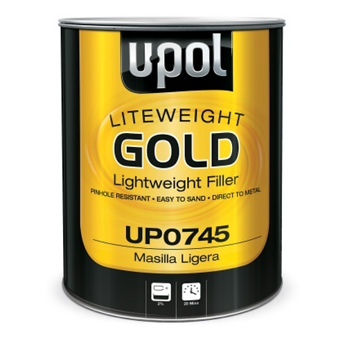 U-Pol Liteweight Gold Filler - 3L