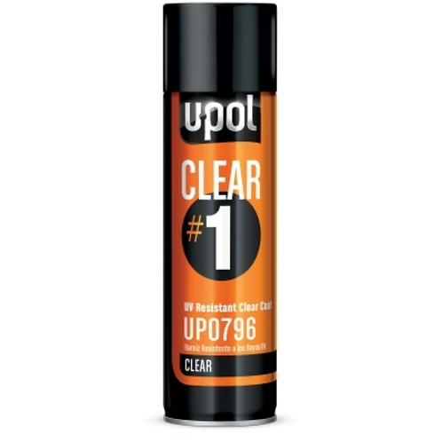 CLEAR #1 UV RESISTANT CLEARCOAT