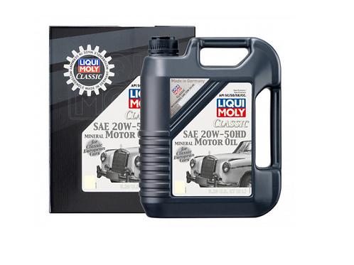 Liqui-Moly Classic Motor Oil SAE 20W-50 HD - 5L