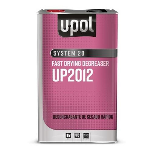 U-Pol Fast Drying Degreaser , UP2012, 5 liters