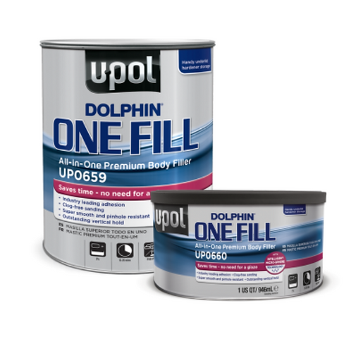 Dolphin One-Fill (All in One Premium Body Filler)