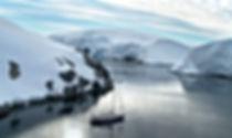 Mouilage dans l'archipel Melchior, Antarctique