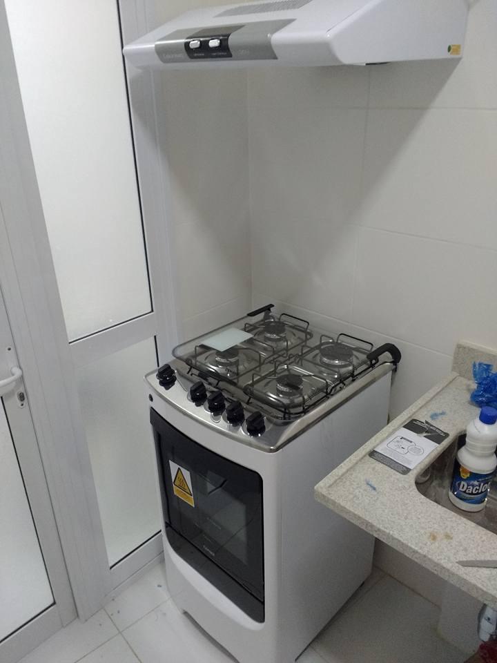 +instalação +conversão +fogão