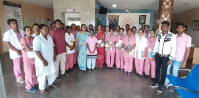 WORKSHOP FOR NURSING STUDENTS FROM SRMC