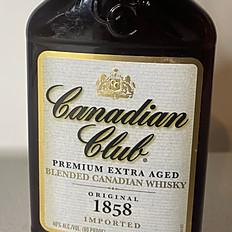Canadian Club Whisky bottle