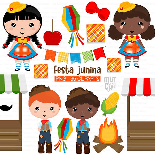 Cliparts | Festa Junina