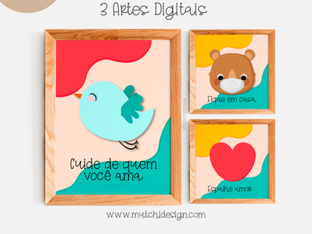 Freebie | Artes Digitais | Vai passar