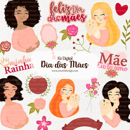 Kit Digital | Dia das Mães
