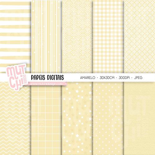 Papeis Digitais | Candy Color Amarelo