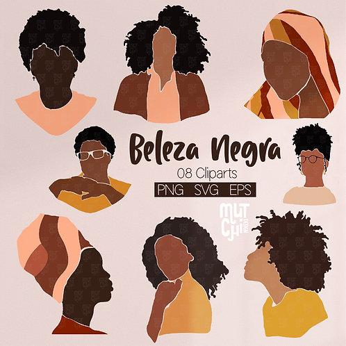 Cliparts | Beleza Negra