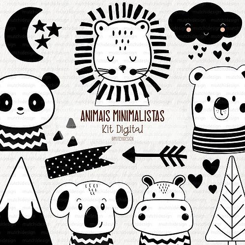 Cliparts | Animais Minimalistas