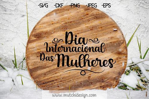 SVG Dia internacional das mulheres