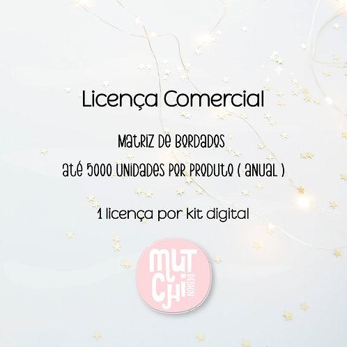 Licença Comercial | Matriz de Bordado
